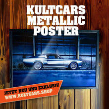 Laden Sie das Bild in den Galerie-Viewer, KULTCARS Metallic Poster
