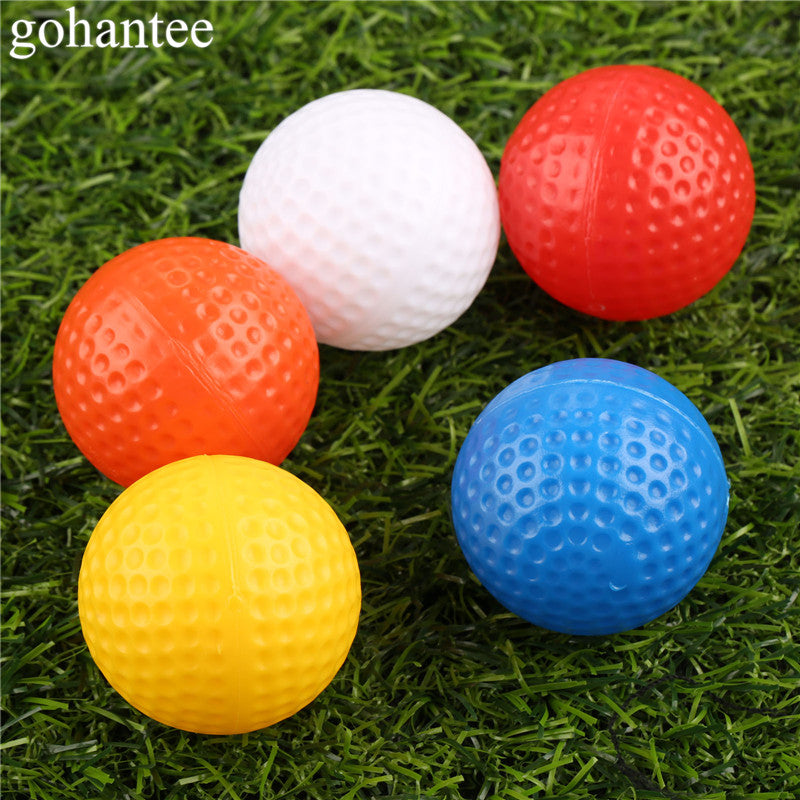 e69d8691f62 10 Pieces (1 lot) 41mm Golf Hollow Balls without Holes Outdoor Sports  Training Plastic