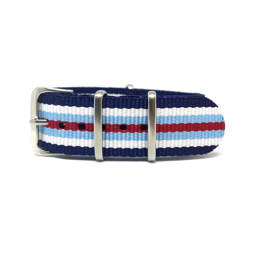 NATO Strap - Limited Edition - Classic Racing Stripes - Nato Strap Store