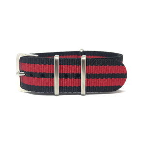 NATO Strap - Black and Red - Nato Strap Store
