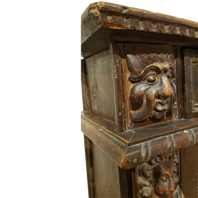 BAROQUE CARVED CREDENZA 18TH CENTURY