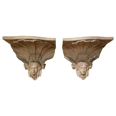 Empire Figural Architectural Bracket - 19th Century