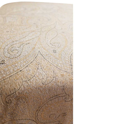 SHOELACE OTTOMAN 1 (kashmir) - SHOWROOM SAMPLE
