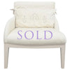 REGENT ARMCHAIR CHAIR & OTTOMAN - SHOWROOM SAMPLE