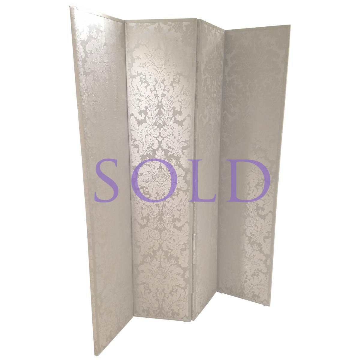 Four-Panel Folding Screen - Showroom Sample