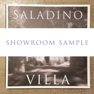 VILLA - HARDCOVER 2 (SHOWROOM SAMPLE)