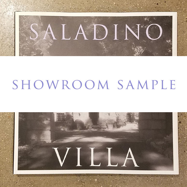 VILLA - HARDCOVER 3 (SHOWROOM SAMPLE)