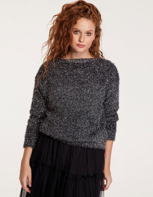 Fluffy Sparkle Sweater