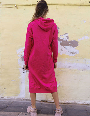 Love Pink? That One Is For You.. Potter Hot Pink Dress