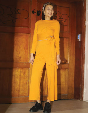 The Classic Suit That Will Upgrade Every Event In Mustard Also Comes In Black