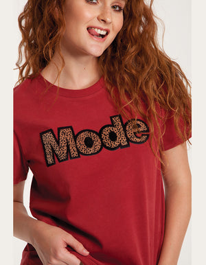 Leopard Mode T Shirt