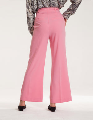 Tailored Trousers in Pink