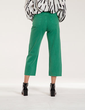 Green Stylish Denim