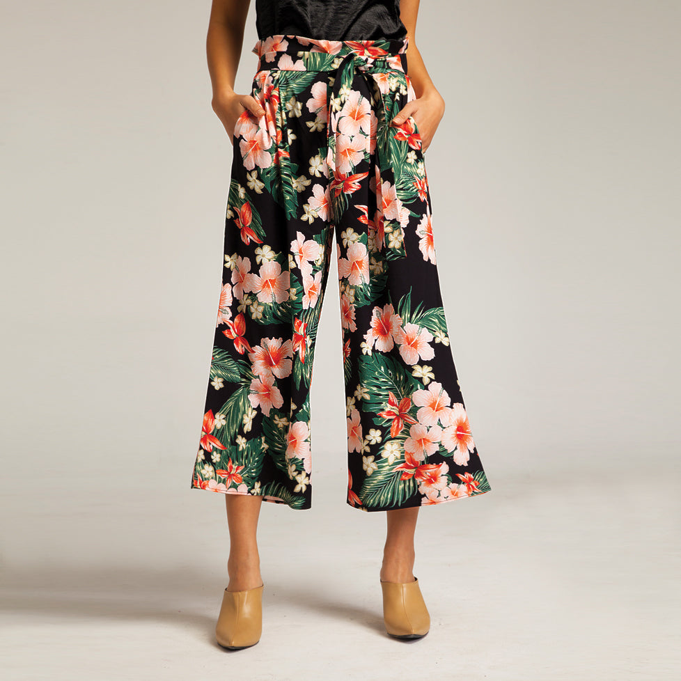 Tropicana Pants in Black