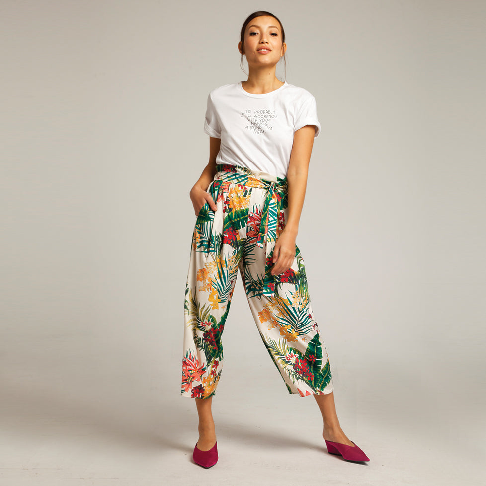 Tropicana Pants in White