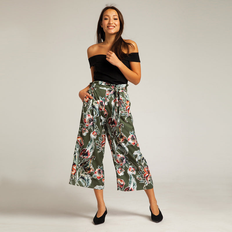 Tropicana Pants in Green