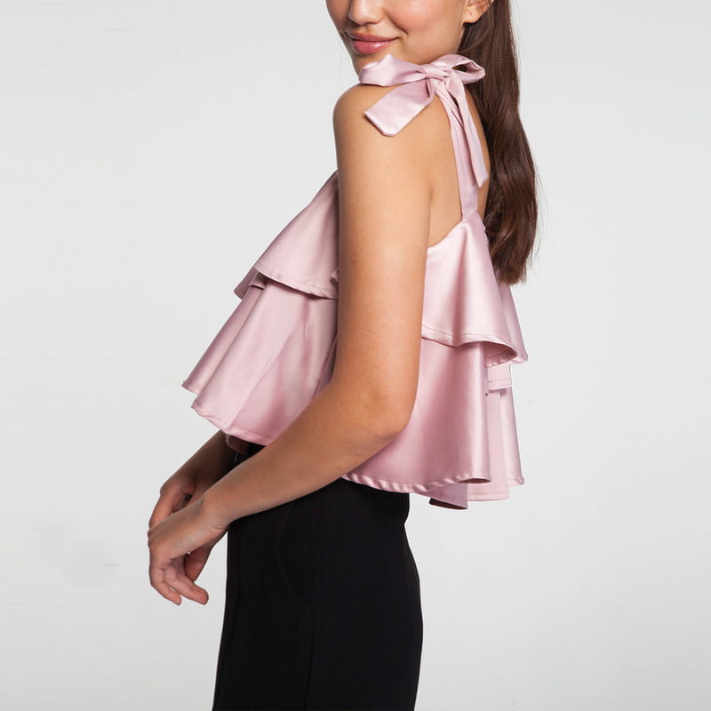 Pep Cami Top in Pink