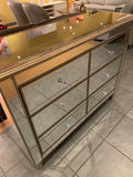 DAV 27 Mirror Chest Of Drawers