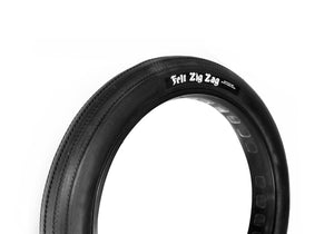 TIRE ZIG ZAG FAT CRUISER BLK