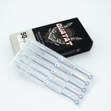 Super Tight Round Liner #10 BugPin Extra Long Taper QUATAT Tattoo Needle