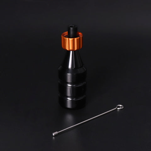 QUATAT Aluminum Adjustable Cartridge Needle Grip 28mm Black