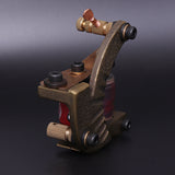 QUATAT Handmade Coil Tattoo Machine Shader Brass