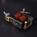 QUATAT Master Coil Tattoo Machine Shader Brass