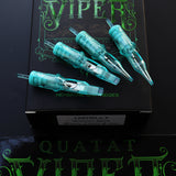 VIPER Round Liner #8 BugPin Long Taper Tattoo Needle Cartridges