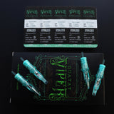 VIPER Super Tight Round Liner #10 BugPin Tattoo Needle Cartridges