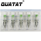 Round Shader #12 Medium Taper QUATAT Tattoo Needle Cartridges Straight Round