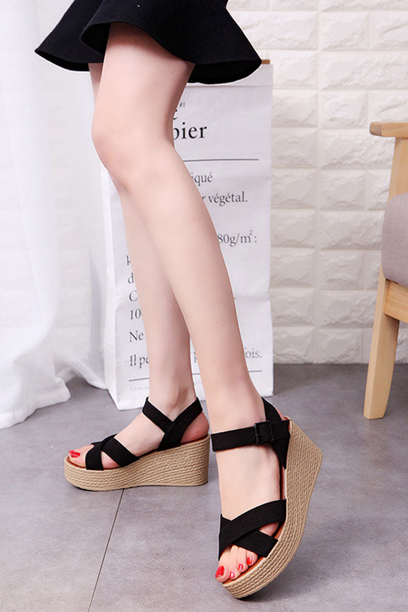 Espadrilles Strappy Sandals