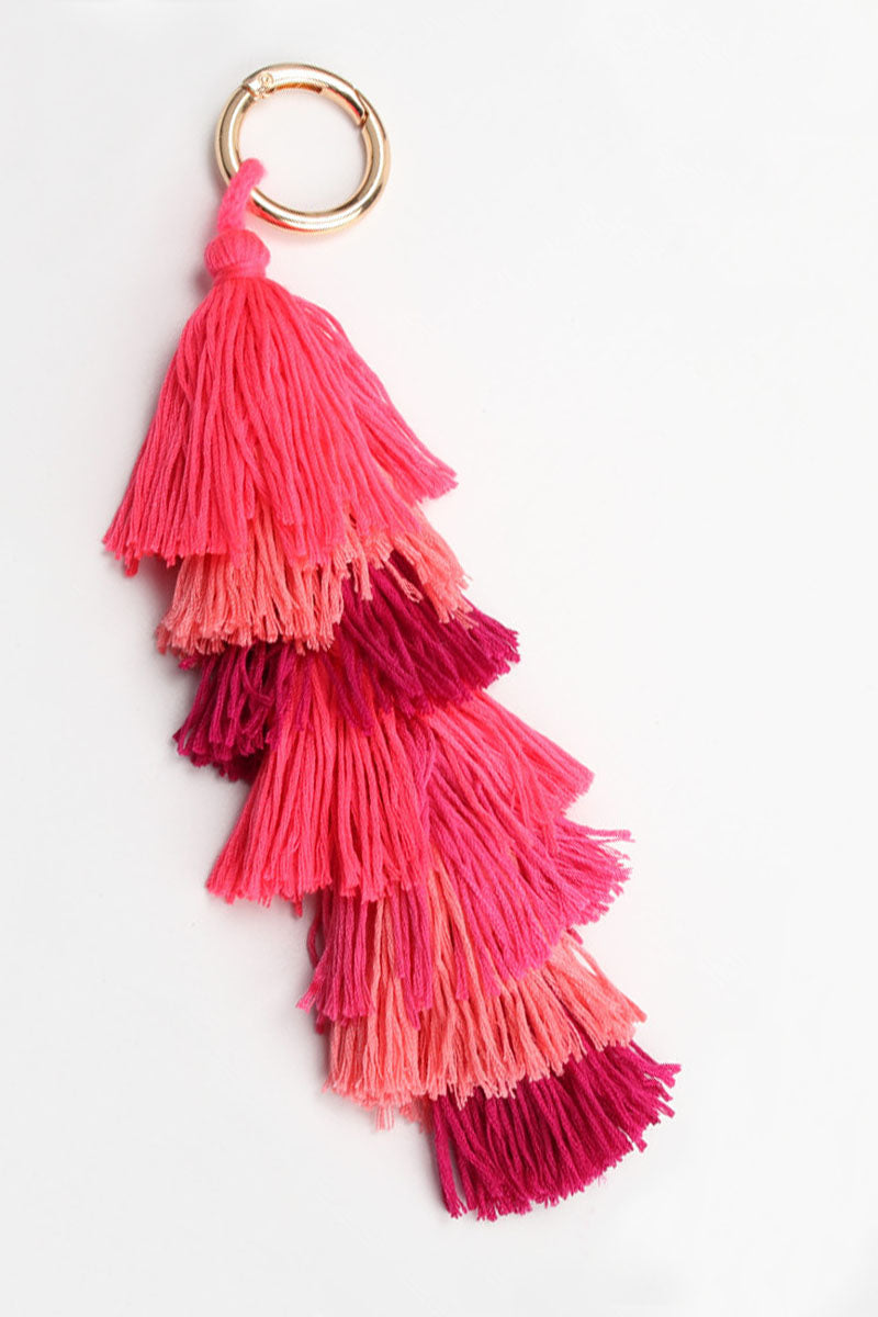 Ombre Tassel Keychain