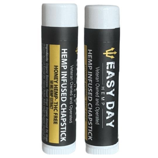 Easy Day  Hemp Infused Chapstick | 50 mg