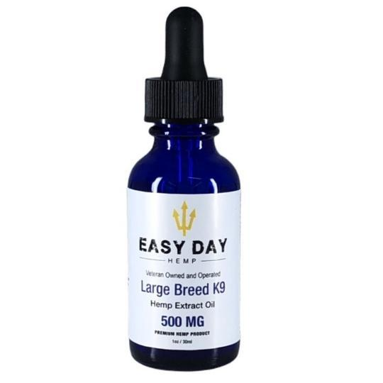 Easy Day Hemp PET LARGE BREED K9 CBD