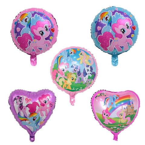 5x18 inch My Little Pony Helium Foil Balloon Party Decoration