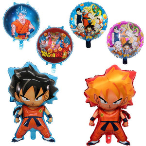 6x18 inch Dragon Ball Helium Foil Balloon Party Decoration