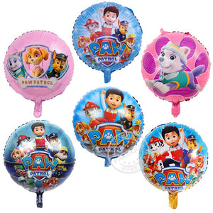 6x18 inch PAW Patrol Helium Foil Balloon Party Decoration