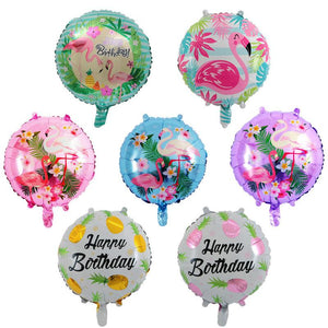 7x18 inch Flamingo Helium Foil Balloon Party Decoration