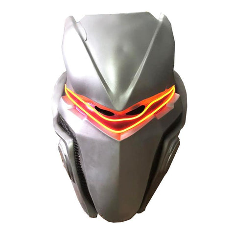 Fortnite Mask Helmet Halloween Cosplay Season Natural Latex Omega
