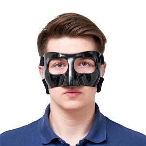 Basketball Nose Guard Face Shield Face Mask Protects Broken Nose