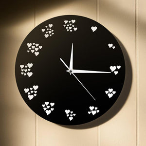 Every Second I Love You Romantic Wall Clock