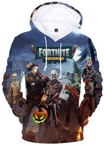 New Arrival Premium Fortnite 3D Printed Unisex Hoodie Novelty Teen Sweatshirt Halloween