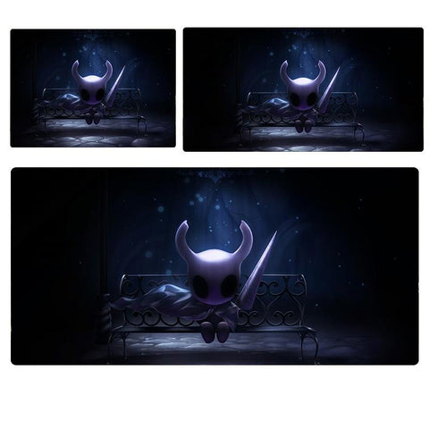Hollow Knight King Five Knights Mouse Pad Computer Desk Pad Mat 3 sizes