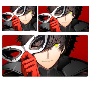 Persona 5 P5 Joker w/ Mask Extended Mouse Pad Computer Desk Pad Mat 3 sizes