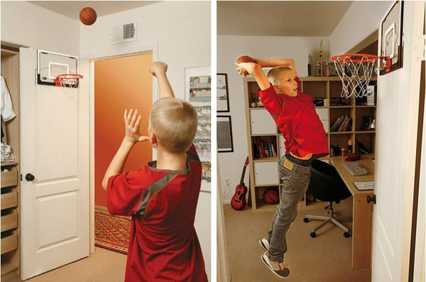Mini Basketball Hoop Hole-free Transparent Hanging Small Backboard