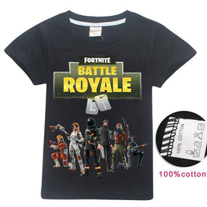 Fortnite Kid's shirt 3D Printed Unisex T-shirt  short Sleeve shirt LT