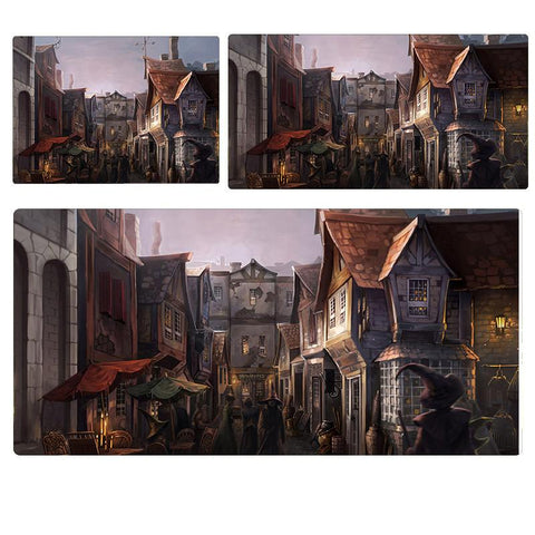 Harry Potter Diagon Alley Extended Mouse Pad Computer Desk Pad Mat 3 sizes