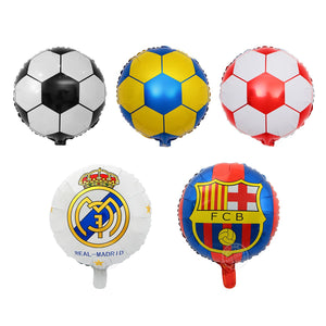 5x18 inch Football Theme FCB Helium Foil Balloon Party Decoration