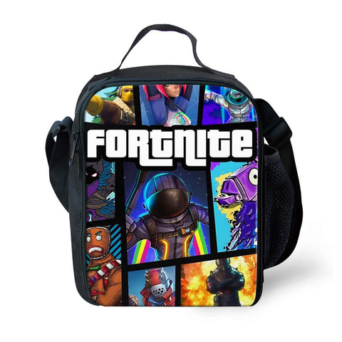 Fortnite Lunch Box Waterproof Insulated Lunch Bag Portable Lunchbox for School 17 Styles