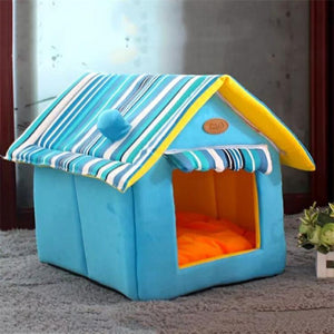 Soft Pet Dog Cat Bed House Kennel Doggy Fashion Cushion Basket Nest